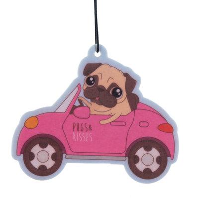 Nieuwe auto-geur Mopshond Luchtverfrisser