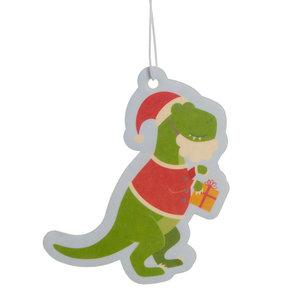 Feestelijke Kerstmis Dinosaurus Kruidig Luchtverfrisser